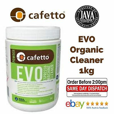 Fresh Cafetto Evo 1Kg Organic Espressso Coffee Machine Cleaner Back Flush