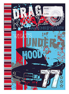 Spencil Exercise Book Covers A4 Under the Hood-Pack of 6