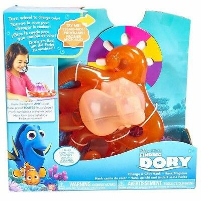 Disney Change & Chat HANK FINDING DORY Pixar For Boys & Girls Birthday Gifts New