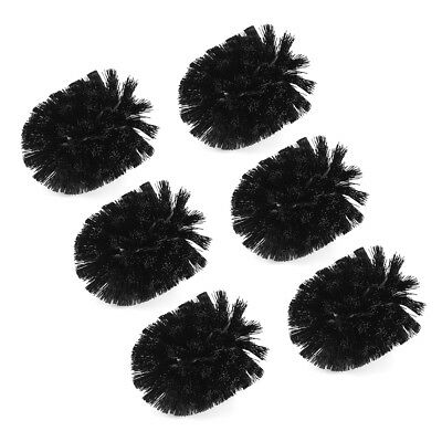 6pcs Toilet Brush Head Replacement Bathroom Cleaning Accessories Cleaner FA316