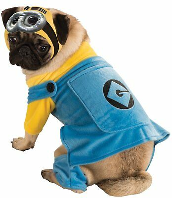 Despicable Me Minion Dog Costume for Halloween - Size S