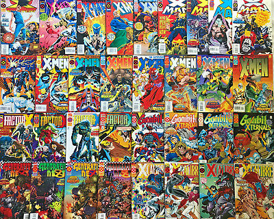 Age Of Apocalypse Complete Series Nm Lot 1995 X-Men 50+ Books Marvel Comics