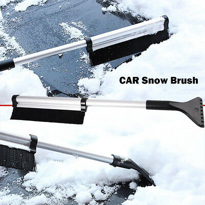 Ice Scraper with Brush for Car Windshield Snow Removal Frost Telescoping Broom G