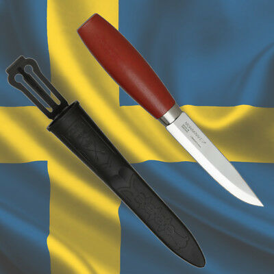 MORAKNIV CLASSIC No 2/0 CARBON - Mora Knives of Sweden Carving Bushcraft Knife