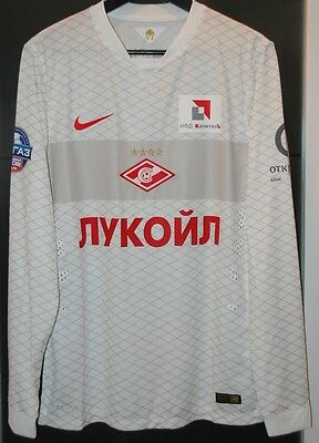 Spartak Moscow (Russia) Match Worn Shirt 2014-15 Jersey Camiseta Maglia Maillot