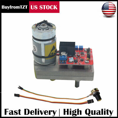 High Torque Servo DC12V 24V 380kg.cm Steel Gear for Robot Mechanical Arm US SELL
