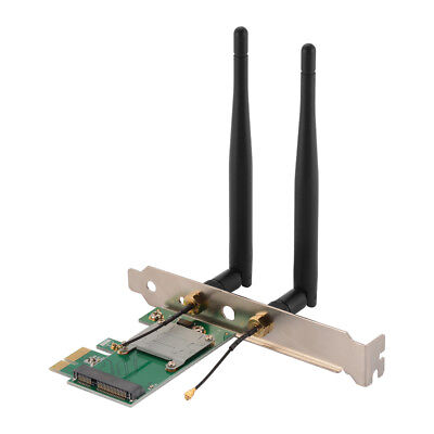 Desktop Built-in Wireless Mini PCIE to PCI-E Express Network Adapter Card AC1094