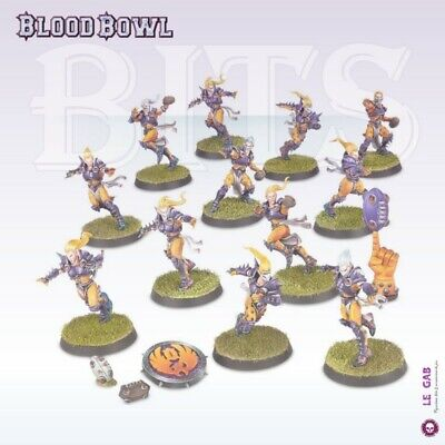 Blood Bowl Elf Team The Elfheim Eagles Elven Union Team Gw 2016