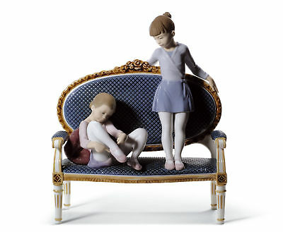 Lladro+Ready For Practice++Limited Edition++Free Shipping+New In Box++01008570+