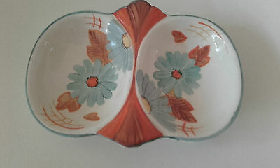 GRAY'S POTTERY: A PRETTY HAND PAINTED DISH - ART DECO - 1930s