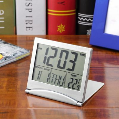 Home number lcd clock Travel Alarm Clocks Thermometer Timer Calendar display