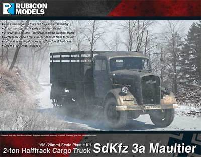Rubicon SdKfz 3a Opel Maultier (Base Kit)
