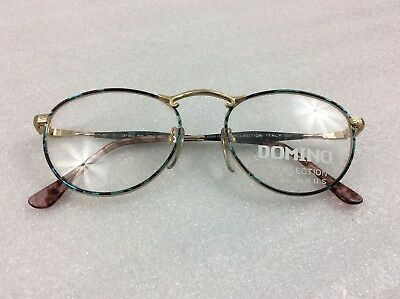 Vintage Eyewear - Domino by W.MOS 50-20 ITALY glasses frames retro 80s style