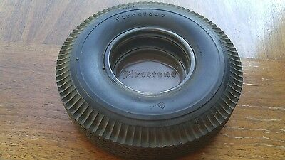 FIRESTONE Deluxe Champion bias ply Advertising TIRE Ashtray