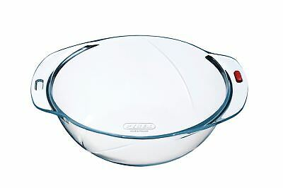Pyrex Reflections - Round Glass Mixing Bowl or Casserole Base - Ø 24cm, 3 Litres