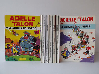 Lot 16 BD ACHILLE TALON Par Greg - Edition Dargaud