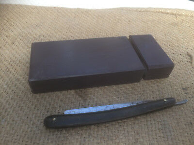 Natural Fine Hand Finished Barbers Straight Razor Hone sharpening stone
