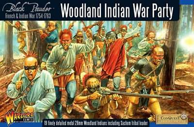 French Indian War - Woodland Indians War Party Boxed Set
