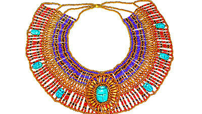 Cleopatra Necklace Collar Ancient Egyptian Queen Costume Jewelry Belly Dance By