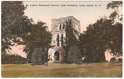 AK US USA Post Card St. Luke`s Episcopal Church East Hampton Long Island N.Y.