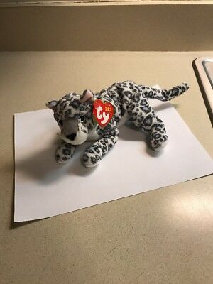 808dd05765c Ty Beanie Babies SUNDAR The Snow Leopard WWF Ty Exclusive Mint with Mint  Tags
