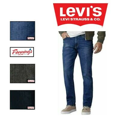 NEW! MEN'S LEVI 514 Straight Leg Regular Fit Jeans VARIETY