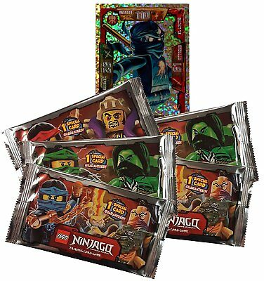 Lot Booster Lego Ninjago série 2 Master of Spinjitzu // Trading Card Game Carte