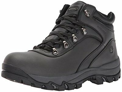 Northside Mens Apex Mid Wide, Black Hiking Boot