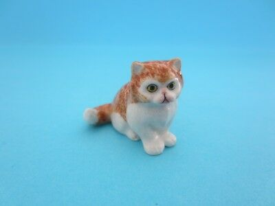 "LITTLE CRITTERZ CAT ""PRINCESS"" PERSIAN KITTEN FIGURINE *Mint Condition*"