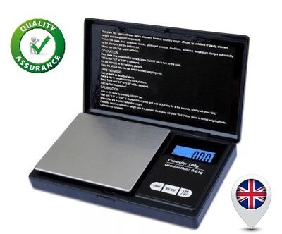 0.01X100g LED Digital Scale Jewelry Gold Herb Balance Weight Pocket Size