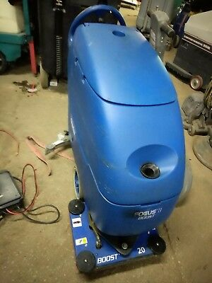 "Clarke Focus Boost 20"" orbital floor scrubber with new batteries & FREE shipping"
