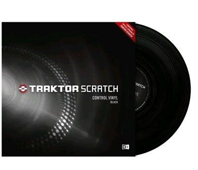 X2 New Native Instruments Replacement Traktor Scratch Control Vinyl BLACK