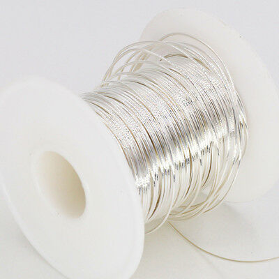 Per Meter 99.999% 5N Solid Core Pure Silver Audio Wire DIY Pure silver Cable