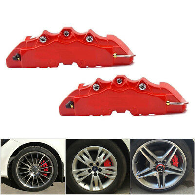 19cm Car Wheel Brake Caliper Cover Front Rear Decorative Dust Resist Protection