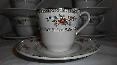 Vintage Royal Doulton Kingswood Cup and Saucer
