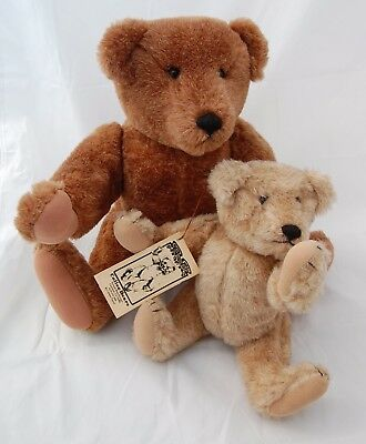 Artist Teddy Bear 2pc Collee Colleen Tipton Antique Style Jointed OOAK