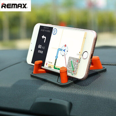 REMAX Silicon Car Holder Dashboard Mount Phone Holder Non-slip Stand Home Desk