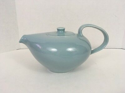 Iroquois Russel Wright CASUAL Ice Blue Tea Pot Made In U.S.A