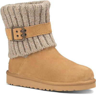 Uggs Children Kids Girl Women Classic Chestnut Cambridge Boots Size 6