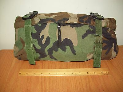 Genuine Us Army Military Woodland Bdu Camo Molle Ii Waist Butt Fanny Pack Bag