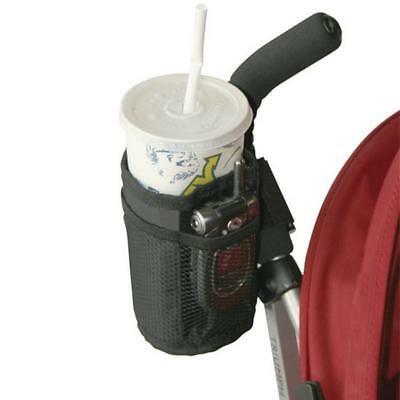 Milk Bottle Cup Holder For Stroller Pram Pushchair Bicycle Buggy Black