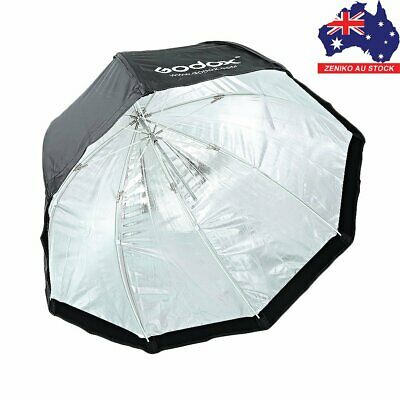 "AU GODOX 80cm 32"" Octagon Umbrella Softbox + Portable Bag for Studio Flash Light"