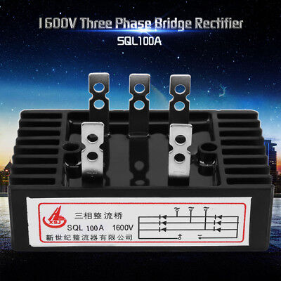SQL100A 1600V Three Phase Diode Bridge Rectifier AC to DC