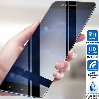 Full Cover Tempered Glass For Xiaomi Redmi 4X Note 5 Pro 6A S2 Screen Protector