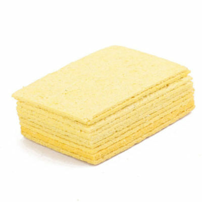 10pcs Soldering Head Sponges Iron Tip Cleaning Pads Solder Tin Cleaner Remove