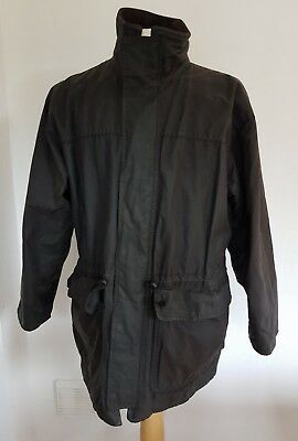 BARBOUR A1560 Medium Black Wax Vintage Jacket