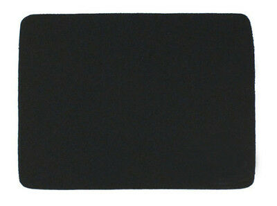 Black Fabric Mouse Mat Pad High Quality made of durable polyester 21.5*17.5cm