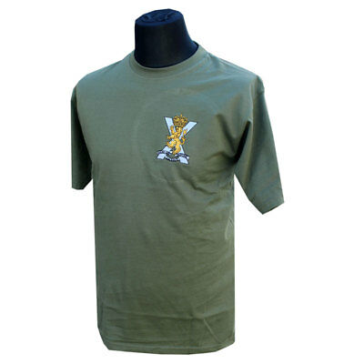 Royal Regiment Of Scotland Rrs Embroidered/graphic Regiimental T-Shirt