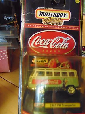 Matchbox Collectibles Coca Cola EDITION 1:64 1967 VW Volkswagen Transporter COLL