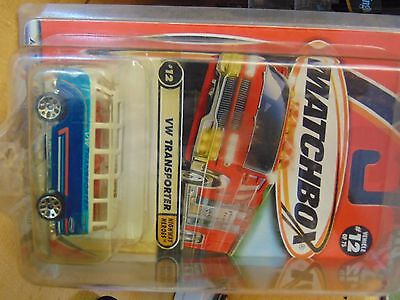Matchbox 2001  #12/75 Highway Heroes - Vw Transporter - New Collection Hw4